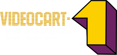 Videocart-1: Tic-Tac-Toe & Shooting Gallery & Doodle & Quadra-Doodle - Clear Logo