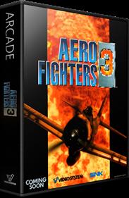 Aero Fighters 3 - Box - 3D