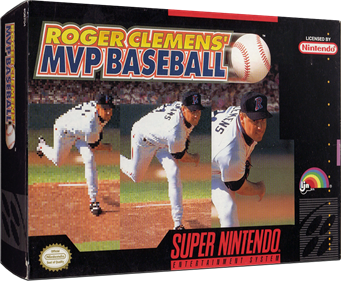 Roger Clemens' MVP Baseball - Box - 3D