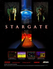 Stargate - Advertisement Flyer - Front