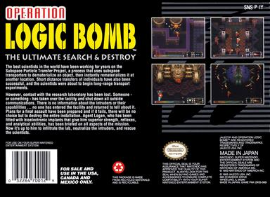 Operation Logic Bomb: The Ultimate Search & Destroy - Box - Back
