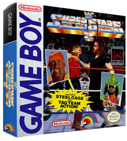 WWF Superstars 2 - Box - 3D