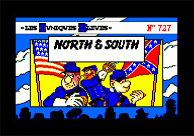 North & South - Screenshot - Game Title