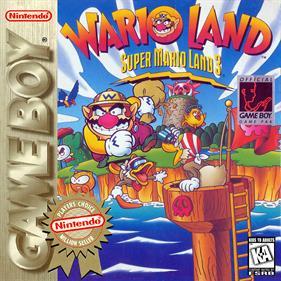 Wario Land: Super Mario Land 3 - Box - Front - Reconstructed
