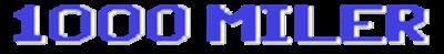 1000 Miler - Clear Logo