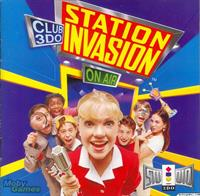 Club 3DO: Station Invasion - Box - Front