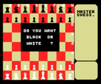 Master Chess - Screenshot - Game Title