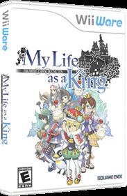 Final Fantasy Crystal Chronicles: My Life as a King - Box - 3D