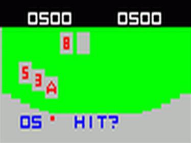 Videocart-3: Video Blackjack - Screenshot - Gameplay