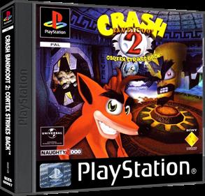 Crash Bandicoot 2: Cortex Strikes Back - Box - 3D