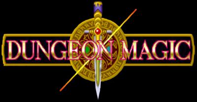 Dungeon Magic - Clear Logo