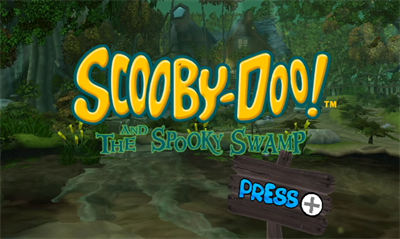 Scooby-Doo! and the Spooky Swamp - Screenshot - Game Title
