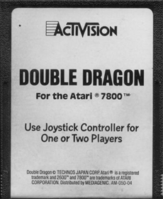 Double Dragon - Cart - Front
