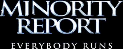 Minority Report: Everybody Runs - Clear Logo