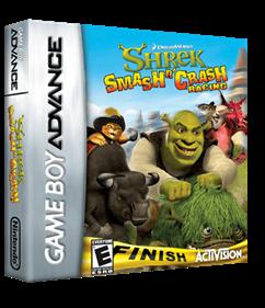 Shrek: Smash n' Crash Racing - Box - 3D