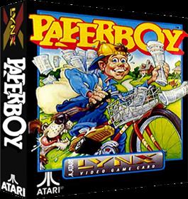 Paperboy - Box - 3D