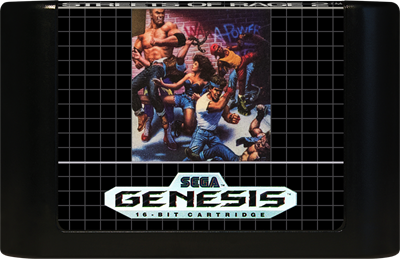 Streets of Rage 2 - Cart - Front
