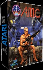 A.M.C.: Astro Marine Corps - Box - 3D
