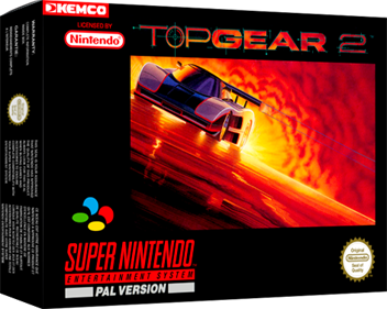 Top Gear 2 - Box - 3D