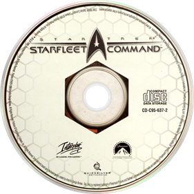 Star Trek: Starfleet Command - Disc