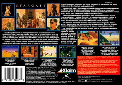 Stargate - Box - Back