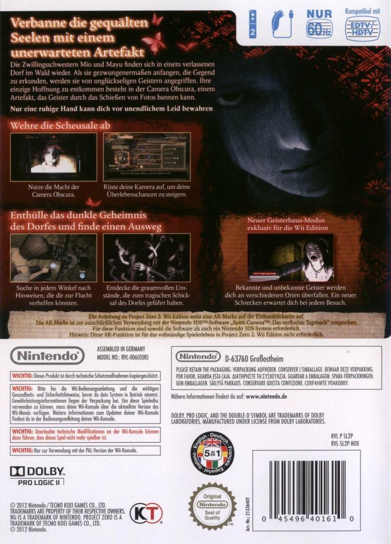 Fatal Frame II: Crimson Butterfly Details - LaunchBox Games Database