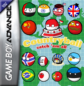 Countryball: Catch 'em All!