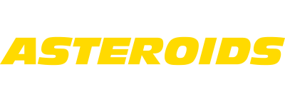Asteroids - Clear Logo