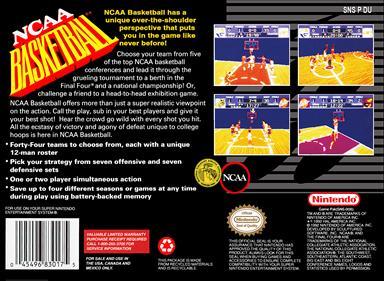 NCAA Basketball - Box - Back
