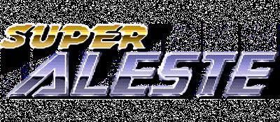Super Aleste - Clear Logo