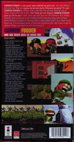 Cannon Fodder - Box - Back