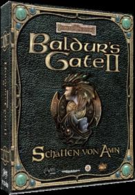 Baldur's Gate II: Shadows of Amn - Box - 3D