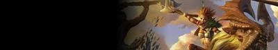 Golden Axe: Beast Rider - Banner