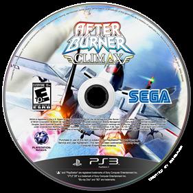 After Burner Climax - Fanart - Disc