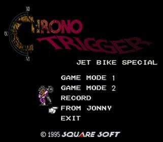 BS Chrono Trigger Jet Bike Special - Screenshot - Game Title