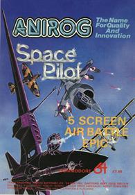 Space Pilot - Advertisement Flyer - Front