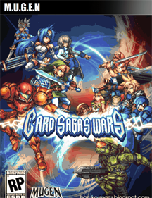 Card Sagas Wars - Fanart - Box - Front