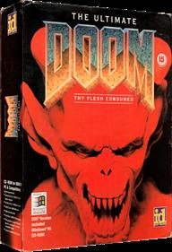The Ultimate DOOM - Box - 3D