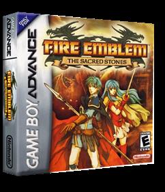Fire Emblem: The Sacred Stones - Box - 3D