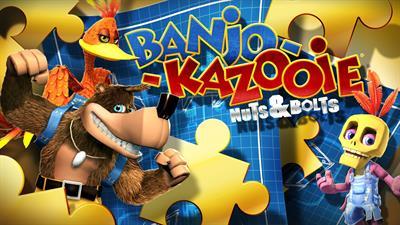 Banjo-Kazooie: Nuts & Bolts - Fanart - Background