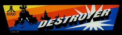 Destroyer - Arcade - Marquee