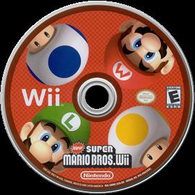 New Super Mario Bros. Wii - Disc