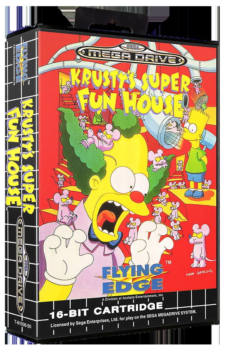 Super Fun Nail Art Ideas 2012: Krusty's Super Fun House Details