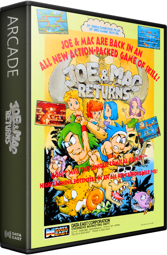 Joe & Mac Returns Details - LaunchBox Games Database
