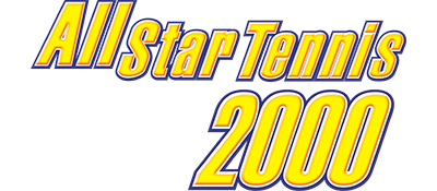 All Star Tennis 2000 - Clear Logo