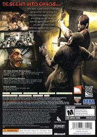 Condemned 2: Bloodshot - Box - Back