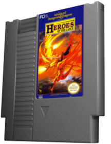 Heroes of the Lance - Cart - 3D