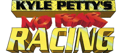 Kyle Petty's No Fear Racing - Clear Logo