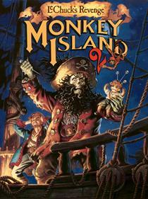 Monkey Island 2: LeChuck's Revenge - Fanart - Box - Front