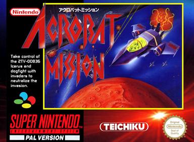 Acrobat Mission - Fanart - Box - Front